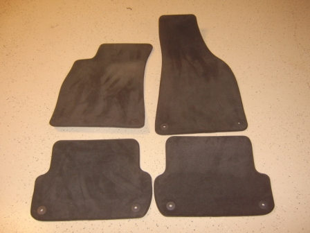 for sale audi a4 b6 carpet floor mats. Black Bedroom Furniture Sets. Home Design Ideas