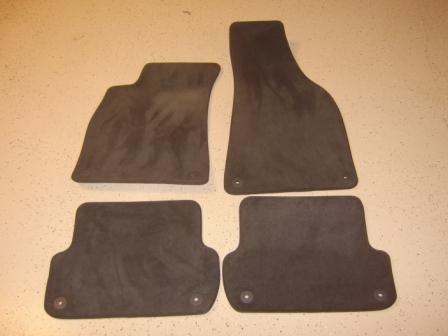 for sale audi a4 b6 carpet floor mats. Black Bedroom Furniture Sets. Home Design Ideas