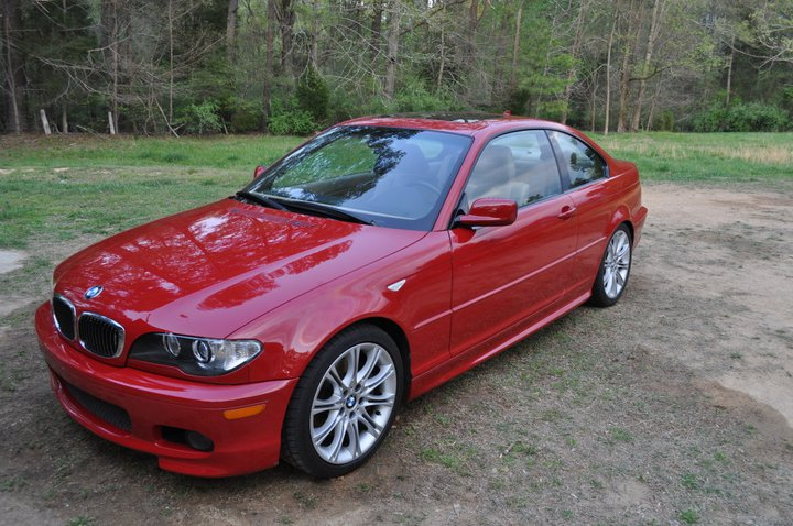 For Sale 2004 BMW 330ci ZHP Imola Red 56k Miles