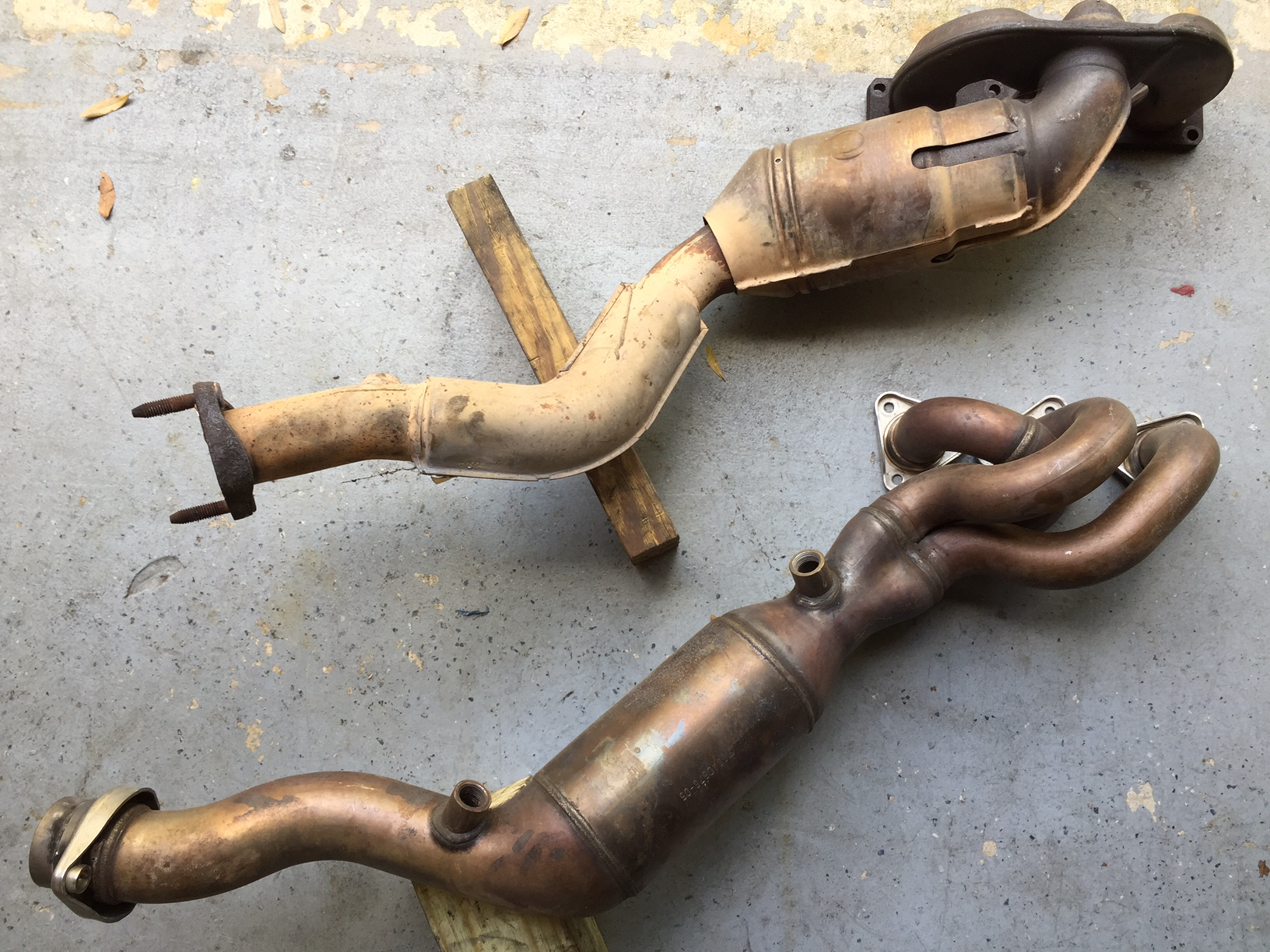 M3 S54 exhaust manifolds for ZHP M54