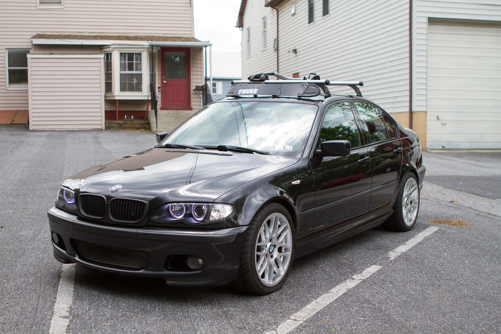 Fs Oem Bmw E46 Roof Rack W Thule Fairing