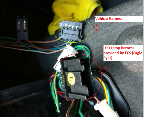 Eagle Eye harness connector not matching with vehicle harness!!ZHP Mafia