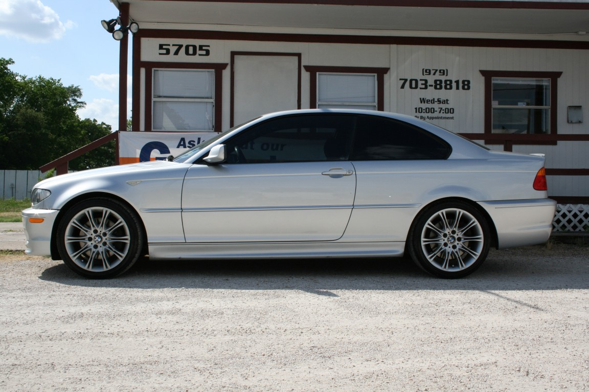 For sale expired 2005 bmw 330ci zhp silver 6mt