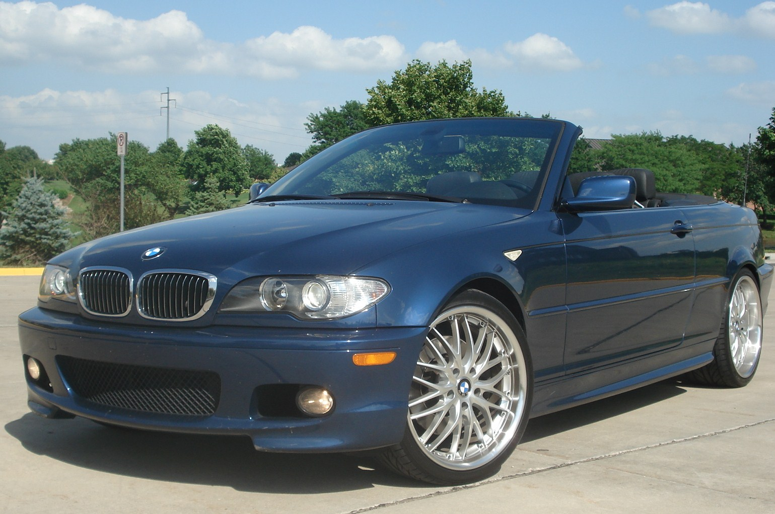 For Sale 2006 BMW 330CI ZHP Convertible Auto Mystic Blue Black