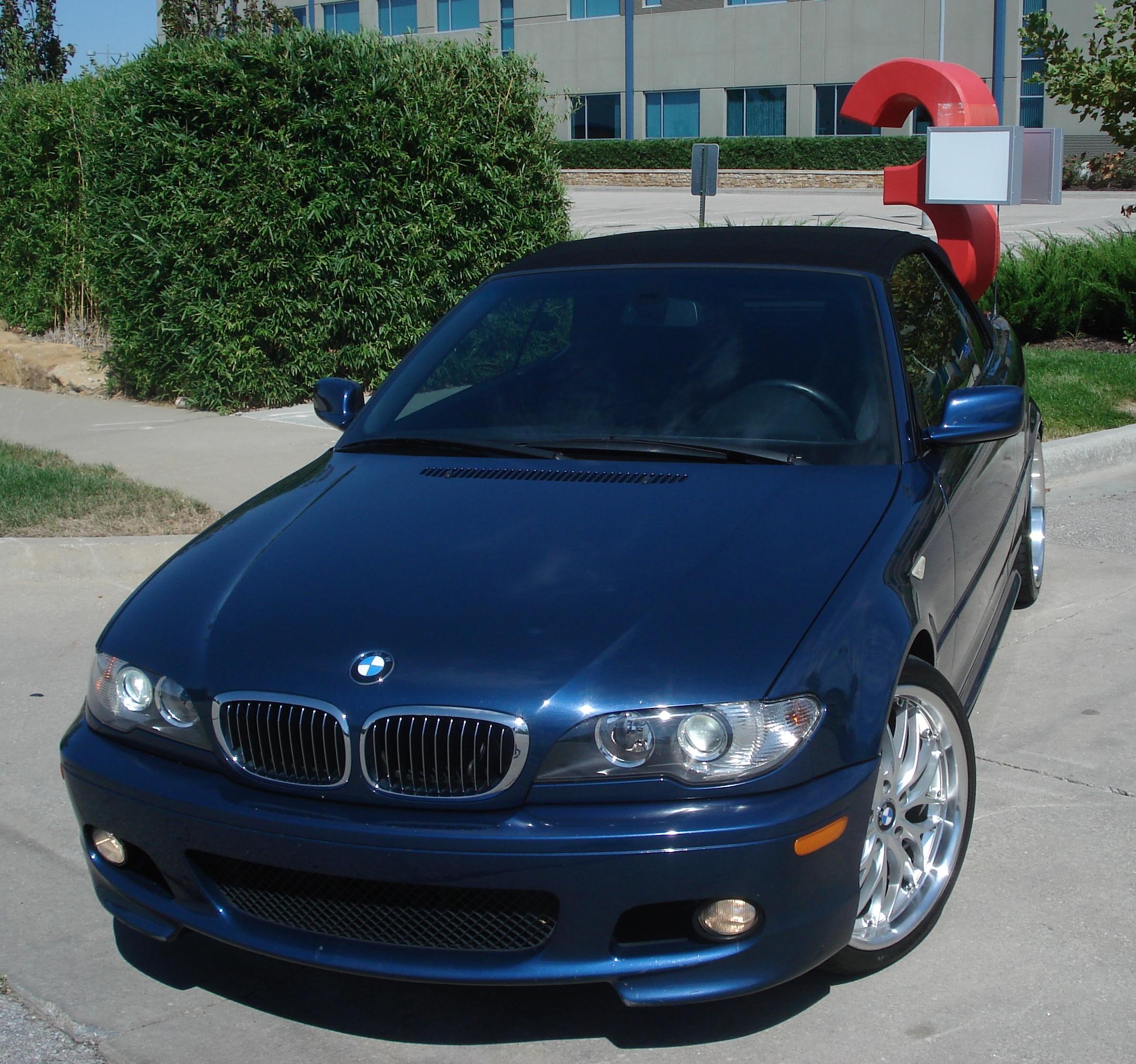 For Sale 2006 BMW 330CI ZHP Convertible Auto Mystic Blue Black