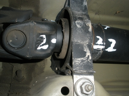 DIY: replacing guibo (flexdisc) and/or driveshaft center support
