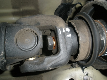 Diy Replacing Guibo Flexdisc And Or Driveshaft Center